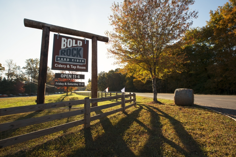 Bold Rock Cidery is open daily for tours, tastings and cider to-go. Virginia Tourism Corporation, www.Virginia.org