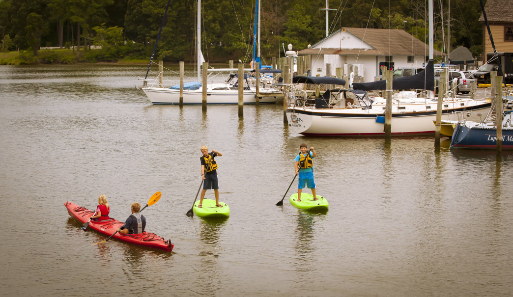 Enjoy a day on the water on Virginia's Eastern Shore. Courtesy of Visit Eastern Shore, Virginia