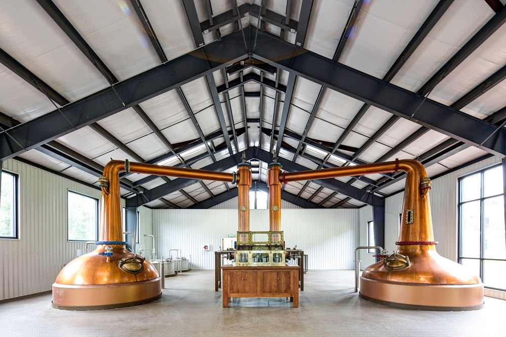 Va Distillery Company copper stills