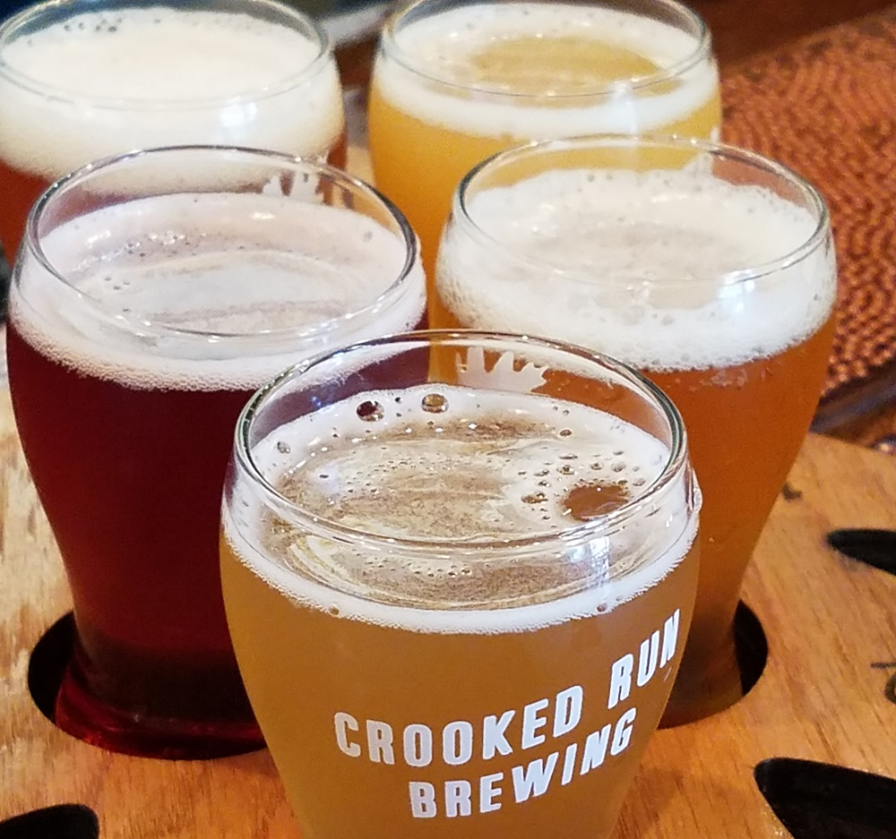 crooked run brewery beer