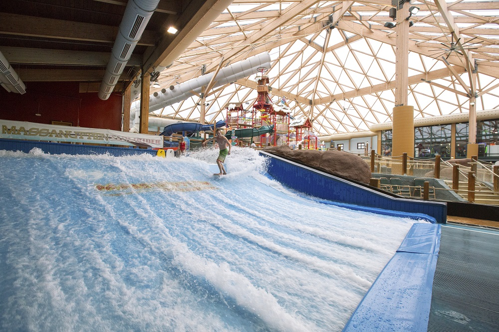 flowrider massanutten indoor water park
