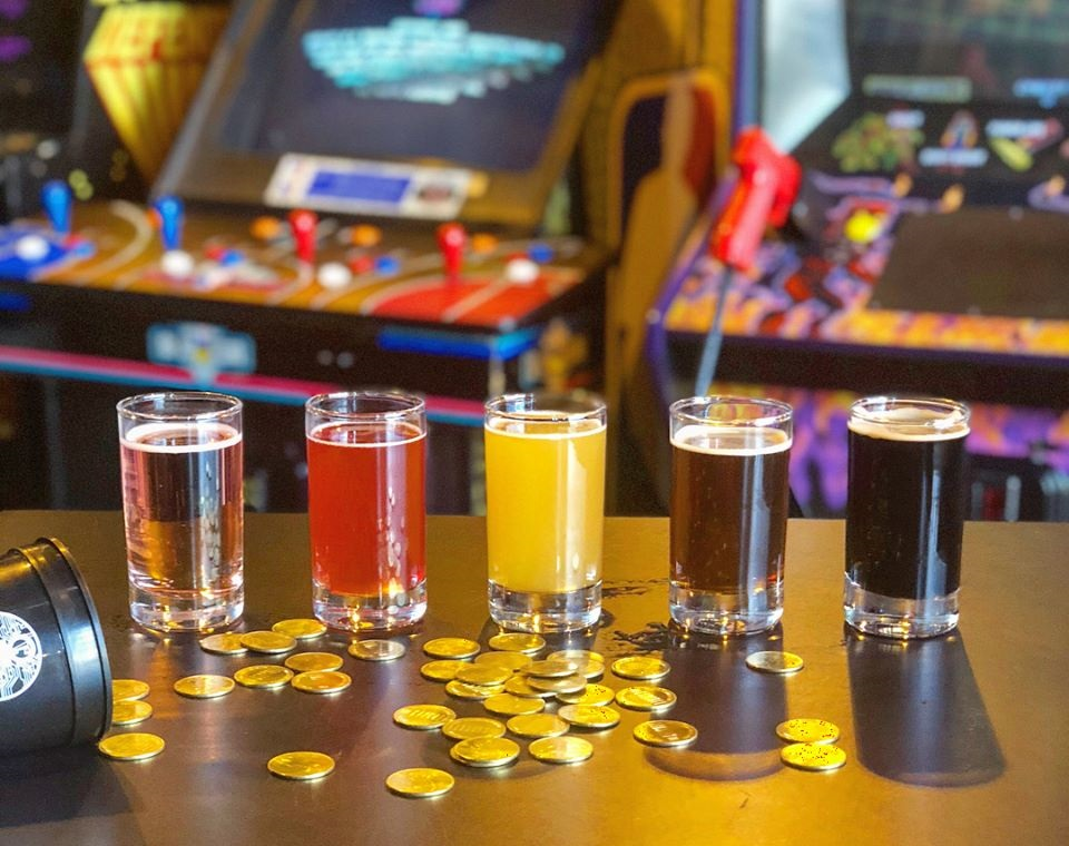 circuit arcade bar
