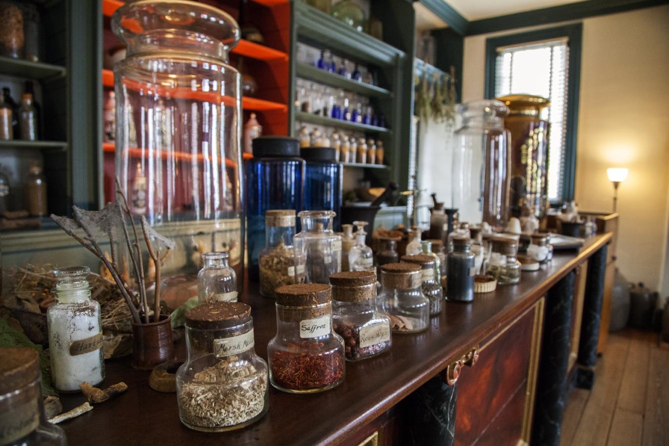 Hugh Mercery Apothecary Shop