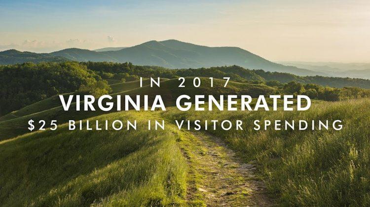 Virginia Tourism Revenues Reached $25 Billion in 2017
