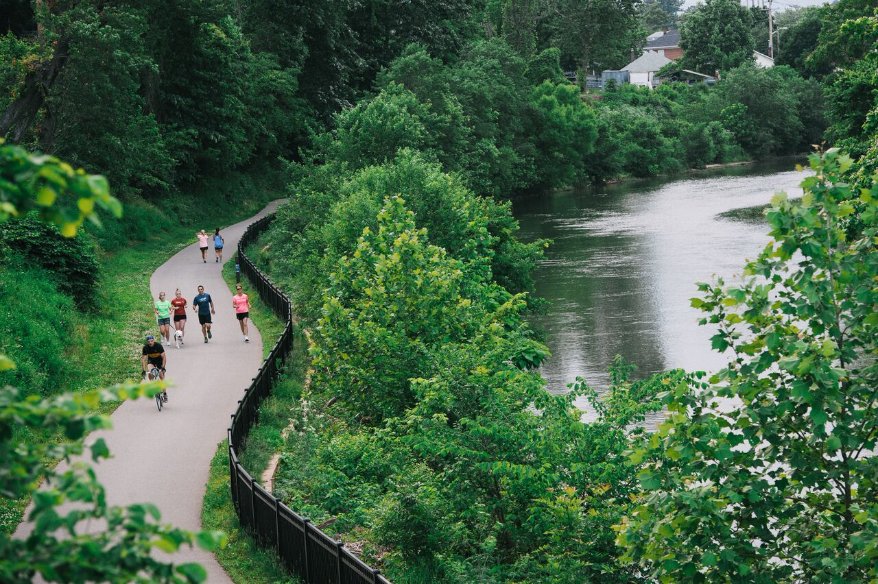roanoke river greenway