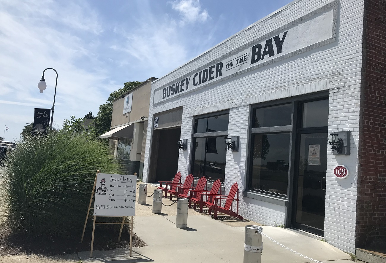 buskey cider on the bay cape charles cidery