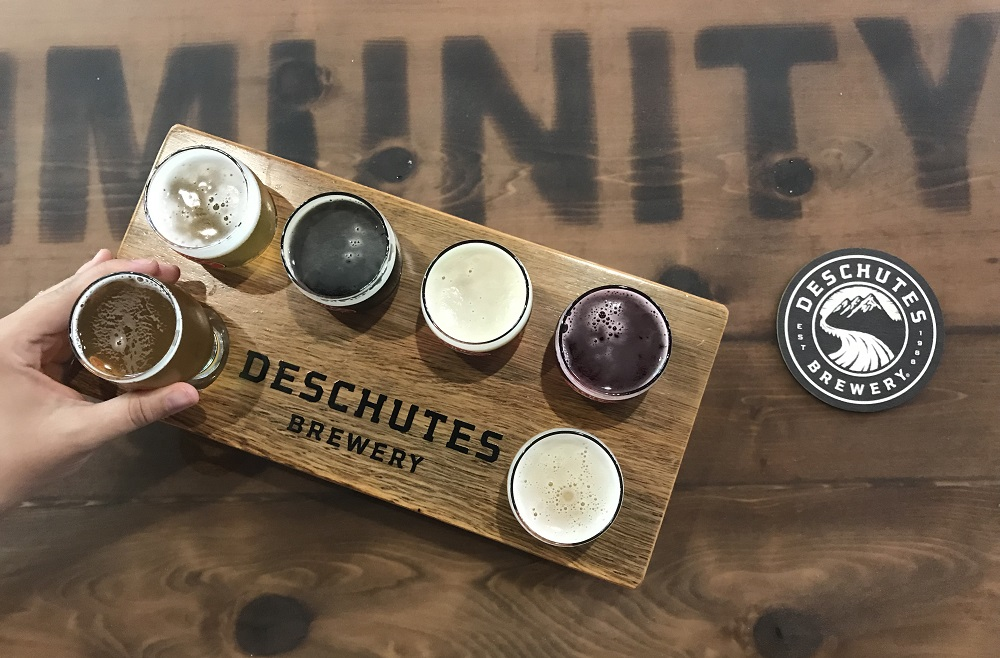 deschutes brewery tasting room roanoke