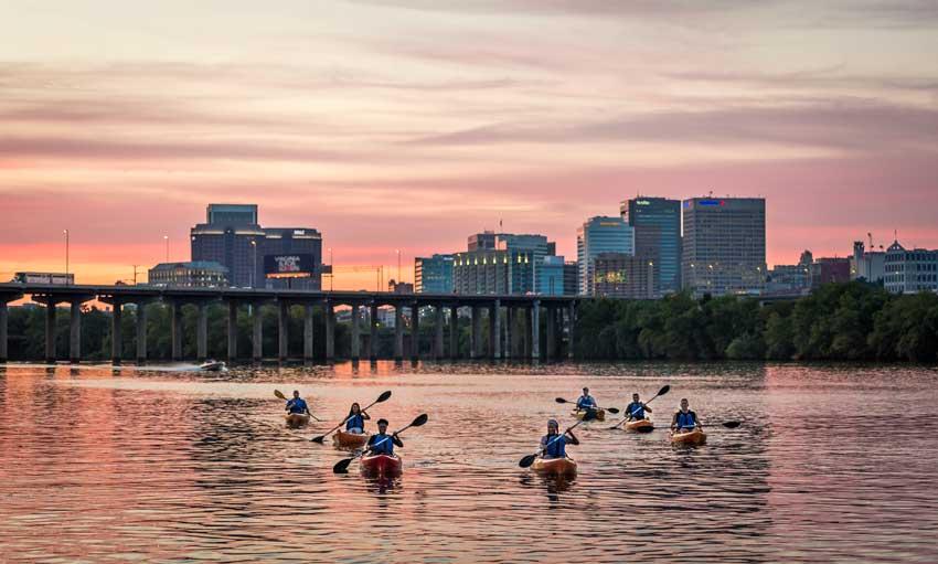 kayak james river richmond